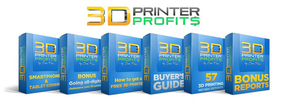 3d printer profits